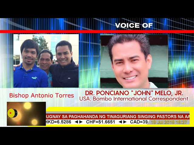 Boses Babaeng si Marcelito kakantahin ang Pambansang Awit sa Pacman vs Thruman!