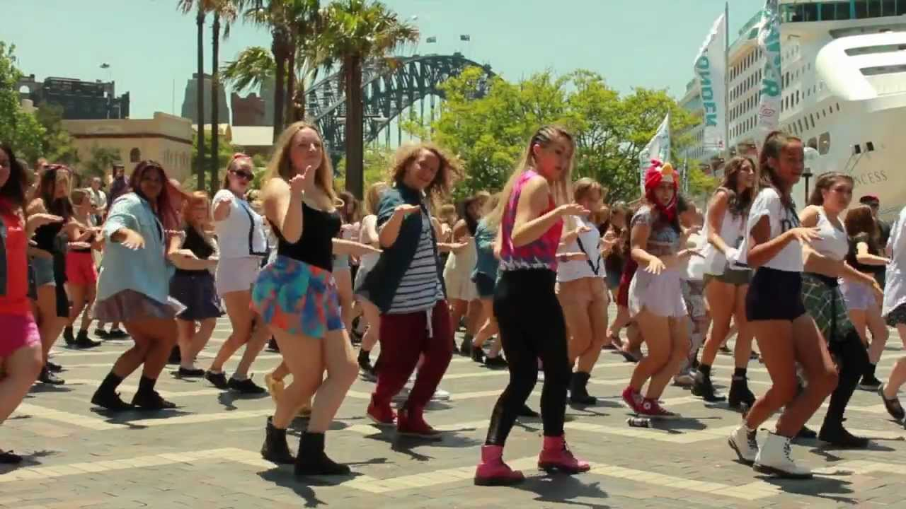 One Direction Sydney Flash Mob Take 2 Official Video Youtube