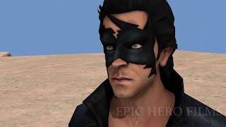Hulk vs Krrish vs Flying jatt.  bollywood  vs Hollywood 3d Animation movie