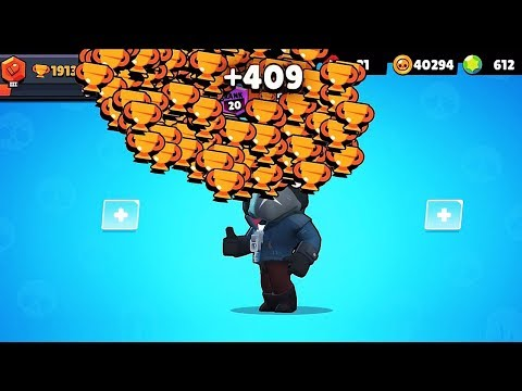 CROW NONSTOP To 500 TROPHIES! // BrawlStars