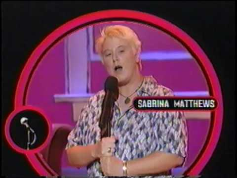 Comedy Central Presents Sabrina Matthews Commercial (2001)