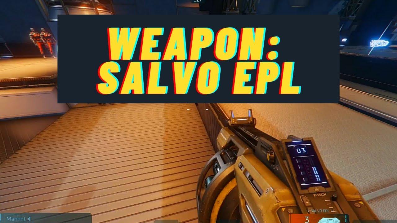 Salvo EPL | Hyper Scape - Weapon Spotlight - YouTube