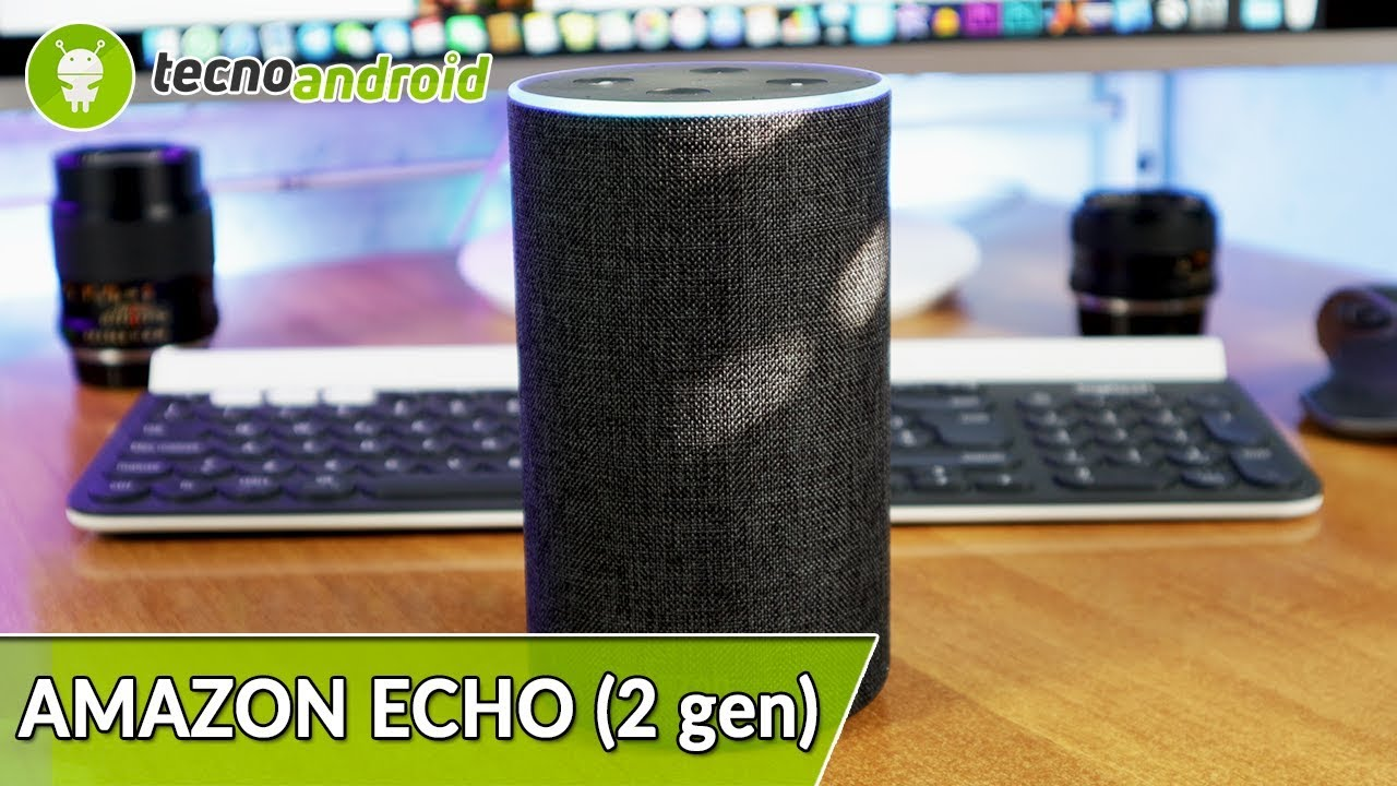 recensione amazon echo 2 gen lo speaker con amazon