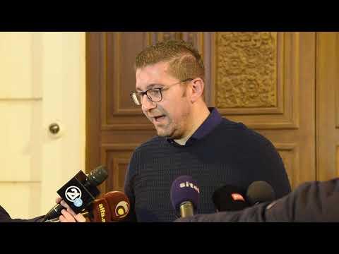Изјава на Христијан Мицкоски - Претседател на ВМРО - ДПМНЕ 17 01 2019