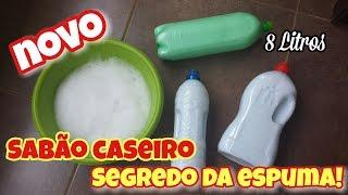 SABÃO CASEIRO QUE FAZ MUITA ESPUMA – FÓRMULA MÁGICA