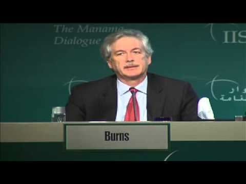 Manama Dialogue 2012: William Burns on US role in the Middle East
