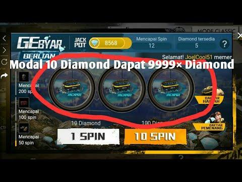 GEbyar Berlian!!! Modal 10 Diamond Tukar 9999xDM | New Event Free Fire Indonesia