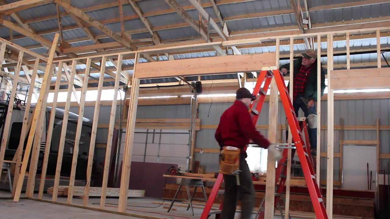 Workshop Completing Rough Framing Of Interior Walls In