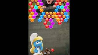 Smurfs Bubble Story Level 120 - NO BOOSTERS