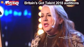 "Mandy Muden REALLY FUNNY COMEDIAN - ""MAGICIAN"" Auditions Britain's Got Talent 2018 BGT S12E03"