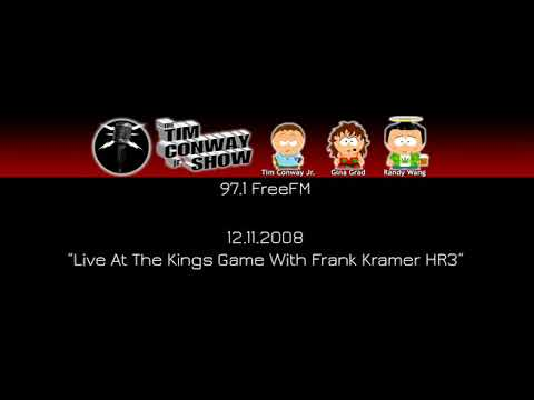 Tim Conway Jr - Live At The Kings Game With Frank Kramer HR3 [12.11.2008]