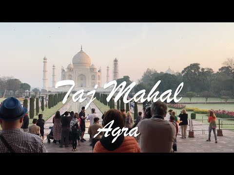 TAJ MAHAL / AGRA / SUNRISE / BACKPACKING INDIA / TRAVEL GUIDE SIGHTSEEING