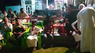 المطرب محمود الغزالي والمايسترو عقيل العراقي حفلة حميد احمد ميقان.
