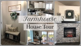 House Tour 2018 | Farmhouse Decor Tour 🏠