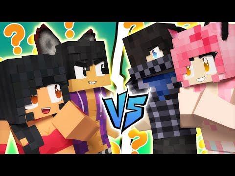 Aarmau VS Zane~Chan | Minecraft Guess Who