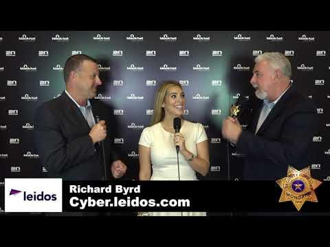 #412 Cyber leidos.com Richard Byrd at Black Hat 2017 #BHUSA
