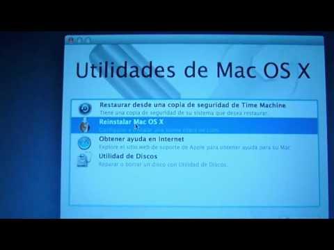 Como restaurar OS X Lion