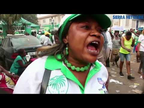 Sierra Leone Peoples Party NEC Presidential Nomination Day