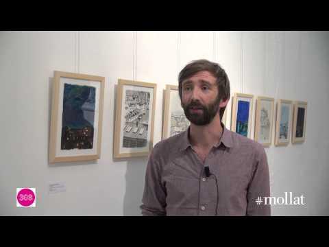 """Martin Etienne - exposition """"architectures dessinées"""" au 308"""