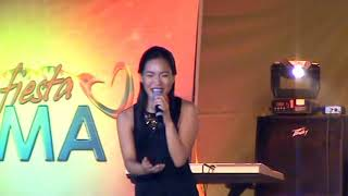 Download Lagu Aicelle Santos is singing in the Buglasan Festival mp3