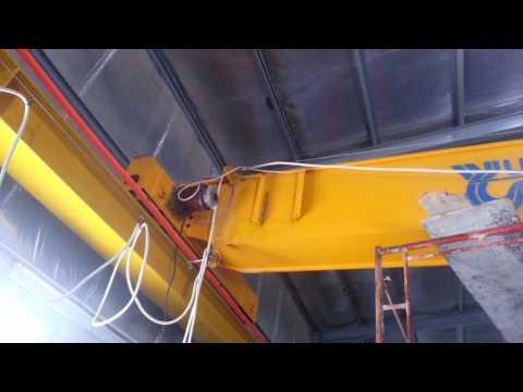 Overhead crane installation in Saudi Arabia- Overhead Crane Installation