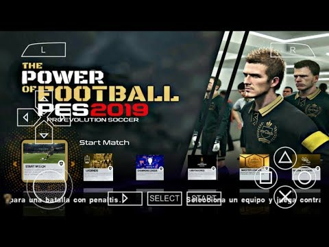 PES 2019 PPSSPP Android Offline 900MB Best Graphics New Kits Face & Transfers Update