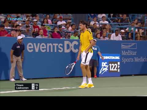 Thiem, Nishikori, Sock advance on day two | Citi Open Washington 2017