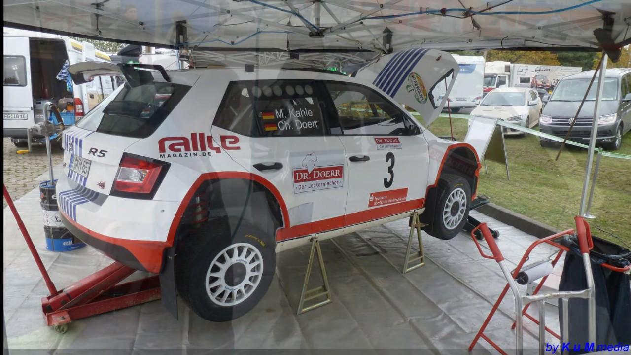 Skoda Fabia R5  Lausitz Rallye 2016  Matthias Kahle  Dr.Doerr  1:43 Abrex Basis