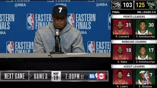 Kyle Lowry Press Conference | Eastern Conference Finals Game 2