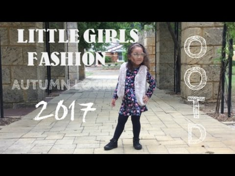 LITTLE GIRLS OUTFIT OF THE DAY AUTUMN/FALL DRESS FASHION LOOK OUTFIT 2017