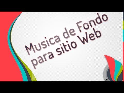 Free Music for website - Musica de Fondo para sitio Web