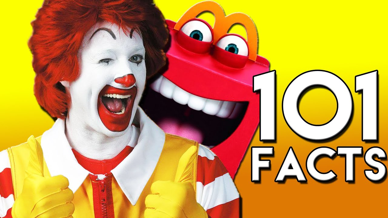 Good 101 CRAZY McDonaldu0027s Facts You Probably Didnu0027t Know! (101 Facts)   YouTube