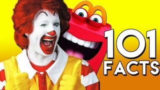 Repeat youtube video 101 CRAZY McDonald's Facts You Probably Didn't Know! (101 Facts)