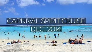 Carnival Spirit Cruise 2014