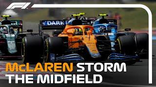 McLaren's Midfield Overtaking Masterclass I 2021 French Grand Prix