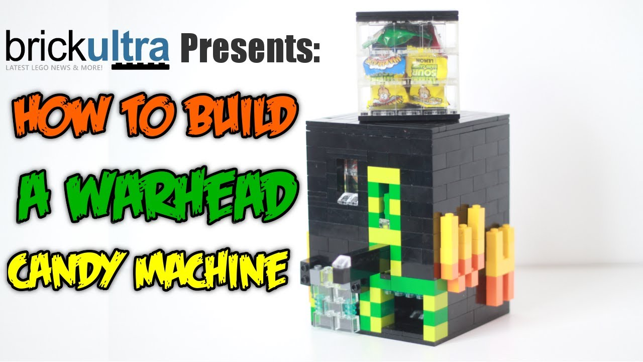 How To Build A Lego Warhead Candy Machine Youtube