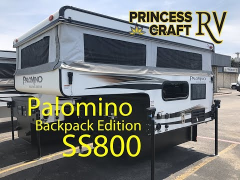 princess craft rv palomino ss800 truck camper at princess craft rv 2755