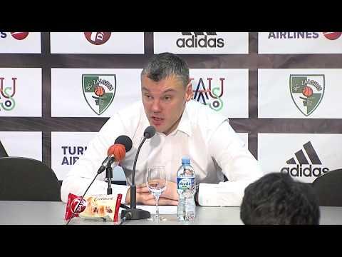EuroLeague: Žalgiris Kaunas – Maccabi Tel Aviv press conference