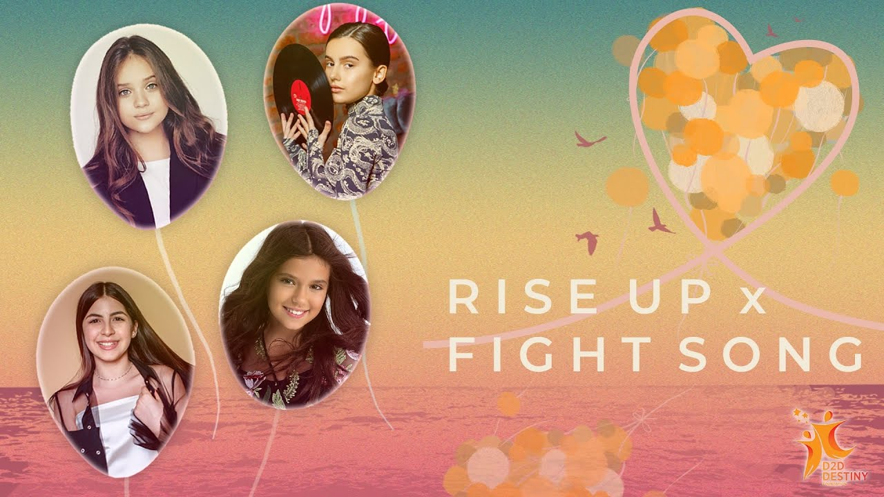 Global Kid Singers | Fight Song x Rise Up 2021 Cover