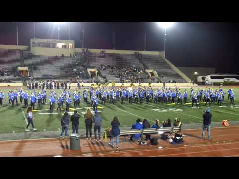 Benicia High School Marching Band 2016 Half Time Show