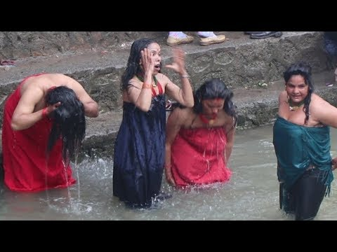 Holy Bath in Sali Nadi || Last Day || Latest Live Full video || LakeSide TV ||