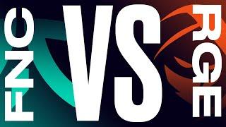 FNC vs. RGE - Week 7 Day 1 | LEC Summer Split | Fnatic vs. Rogue (2021)