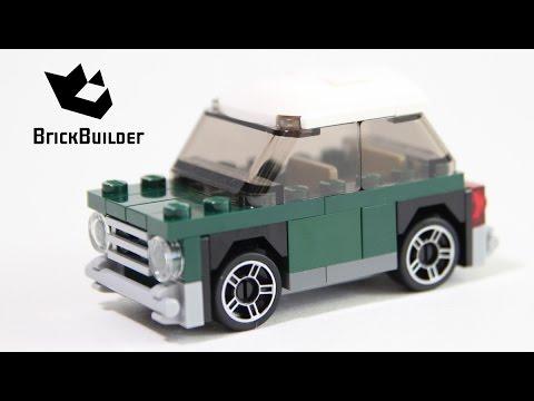lego 40109 mini cooper mini model speed build youtube. Black Bedroom Furniture Sets. Home Design Ideas
