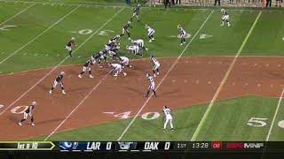 Oakland Raiders quarterback Derek Carr's best throws | 2018 season
