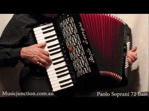 Paolo Soprani Studio 72 Accordion