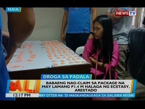 BT: Babaeng nag-claim sa package na may lamang P1.4M halaga ng ecstasy, arestado