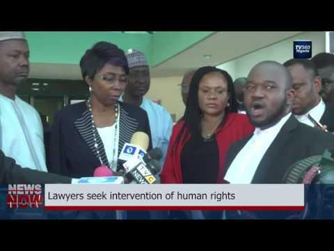 Lawyers seek intervention of human rights (Nigerian News)