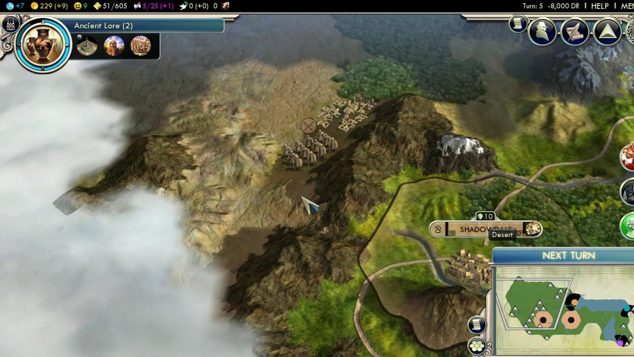 Let's Nerd With Civilization V - Faerun Overhaul Mod - Ep  1