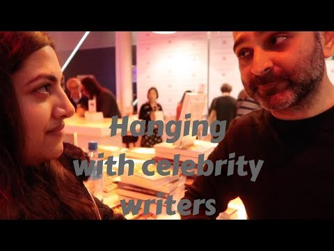 Vlog: Hanging with celebrity writers in Holland
