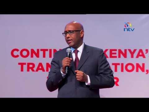 Industrialisation CS Adan Mohamed presents the Ministry's scorecard
